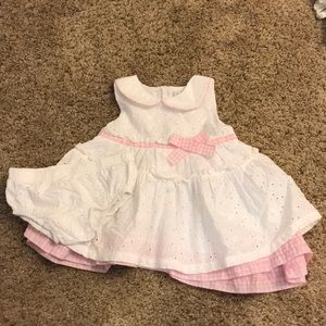 Baby sun dress and bloomers
